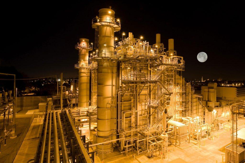Fabriek nacht